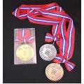 AMメダル-B型 φ75mm プラケース入り 蝶リボン付き:大会の記念に1個から販売、金メダル・銀メダル・銅メダル、優勝メダル