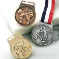 MFメダルAセット φ40mmメダル 首掛けリボン付/紙箱入り:大会の記念に1個から販売、金メダル・銀メダル・銅メダル、優勝メダル