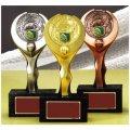 VTX3610:MVP・優秀選手賞の景品などに用いられるダーツ用の記念ブロンズトロフィー