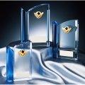 CM-337 クリスタル楯 社内表彰・企業表彰・周年記念・コンテスト用に高級感あるガラス製記念品・クリスタル楯
