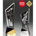 金箔+2Dレーザー加工 VOT232:コンテスト・認定書・周年記念・表彰用品にオススメ 2D加工表彰楯