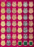 画像3: MFメダルAセット φ40mmメダル 首掛けリボン付/紙箱入り:大会の記念に1個から販売、金メダル・銀メダル・銅メダル、優勝メダル