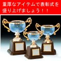 VC1008 クリスタルカップ 社内表彰・企業表彰・永年勤続表彰・大会用に。高級感あるガラス製トロフィー・クリスタルトロフィー