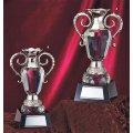 GC-301 クリスタルカップ 社内表彰・企業表彰・永年勤続表彰・大会用に。高級感あるガラス製トロフィー・クリスタルトロフィー
