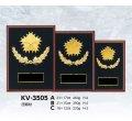 KV-3505(警察用):在隊記念・勇退記念・退職記念にオススメの警察用楯 優勝楯