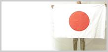 一般的なサイズ、官公庁や学校などの掲揚用旗