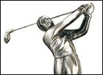 ゴルフ用ブロンズ