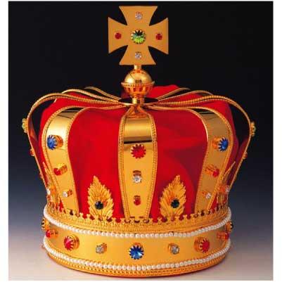 画像1: キング王冠A型:イベント・文化祭に使用可能な王冠