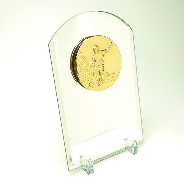 画像2: VSX5512:名入れ・文字彫刻無料・優秀選手賞・殊勲賞・MVPなどに、オススメのサッカー用の楯 優勝楯