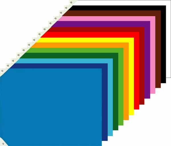 画像1: 色旗(大)応援旗:運動会やイベントに使用、色旗・応援旗