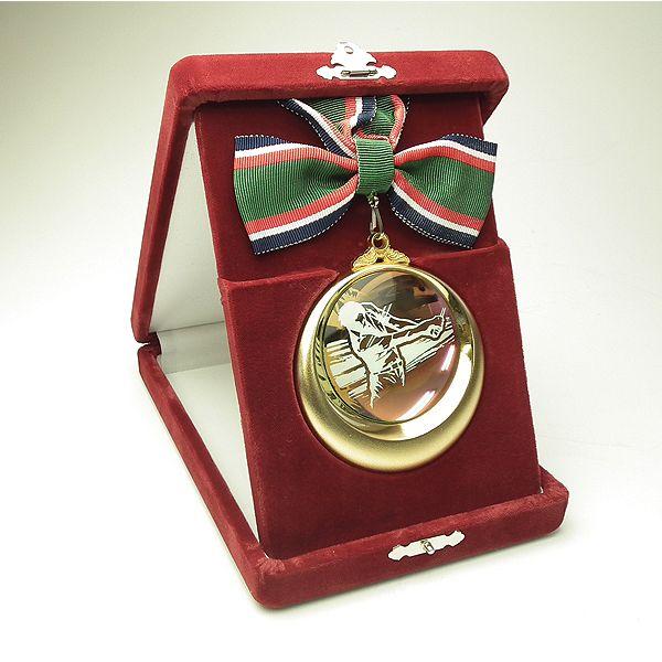 高級メダル SPMメダル-ベルベットケース付画像3