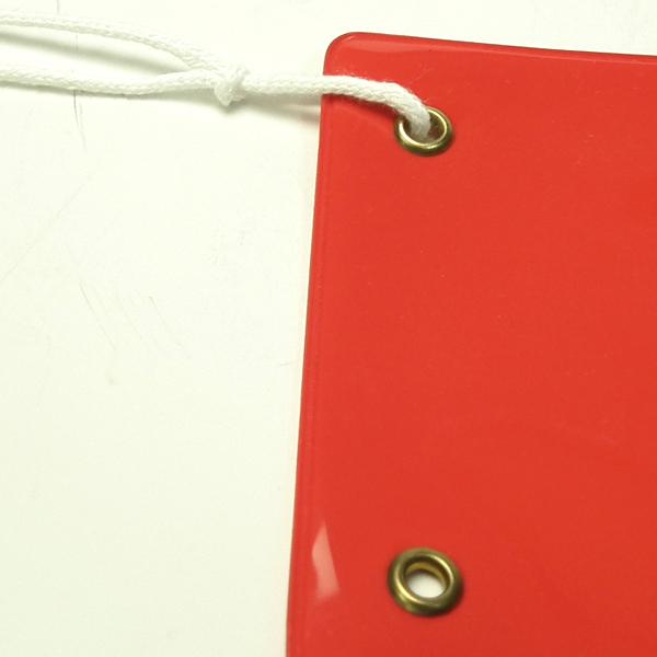 画像2: ビニール腕章カッテイング貼り::布ビニール製のしっかりとした腕章。無料で名入れ加工(カッテイング貼り)致します