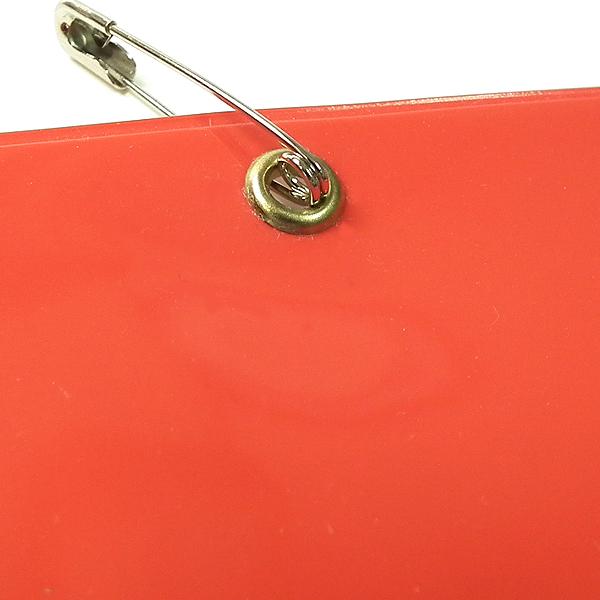 画像3: ビニール腕章カッテイング貼り::布ビニール製のしっかりとした腕章。無料で名入れ加工(カッテイング貼り)致します