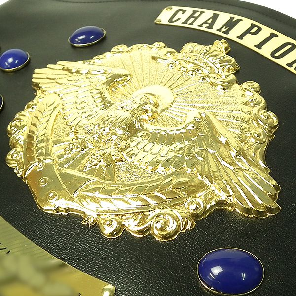 画像2: チャンピオンベルトA型:ボクシング・プロレス・空手・格闘技・の大会に使用可能なチャンピオンベルト