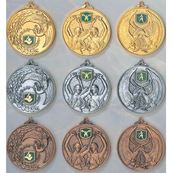 一般メダルKMメダルのVマーク付き-C型画像1