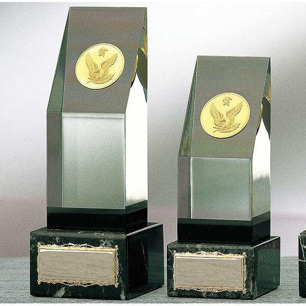 画像1: CM-297:社内表彰・企業表彰・周年記念・コンテスト用に高級感あるガラス製記念品・アクリル楯