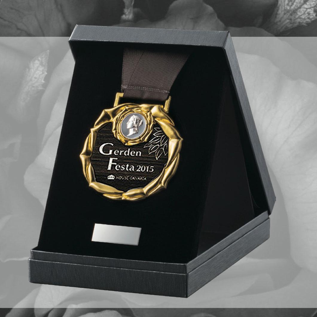 高級メダル ローズメダル VOM11画像2