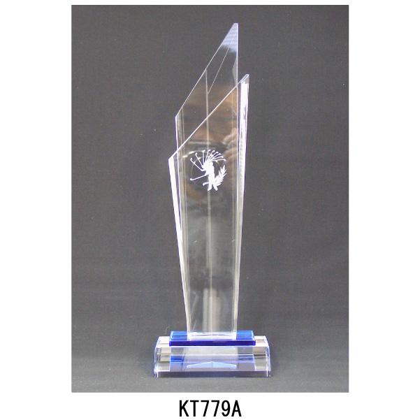 画像2: KT2779 ゴルフ用クリスタル ゴルフコンペの記念品、景品には、ガラス製の高級なゴルフ用のクリスタルトロフィー