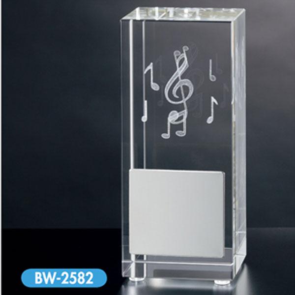 画像1: 音楽用トロフィー BW2582:合唱コンクール、吹奏楽イベント、マーチングバンドなど音楽のイベントにぴったりなミニトロフィー