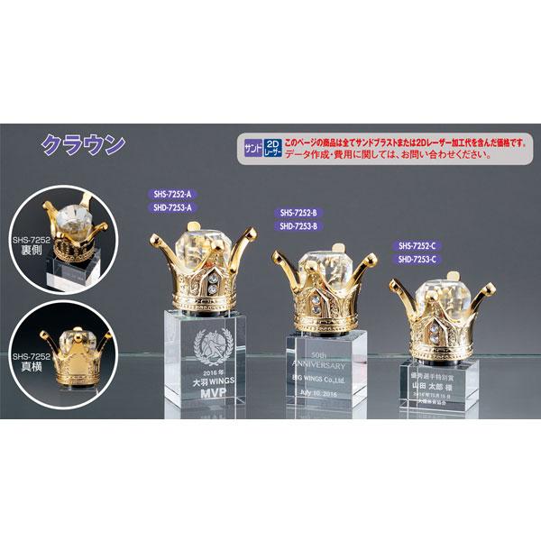 画像1: 2Dレーザー加工 SHS7253:コンテスト・認定書・周年記念・表彰用品にオススメ 2D加工表彰楯