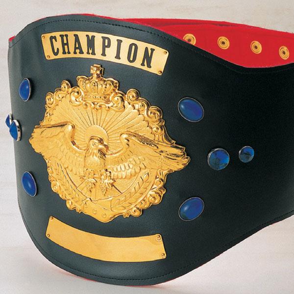 画像1: チャンピオンベルトA型:ボクシング・プロレス・空手・格闘技・の大会に使用可能なチャンピオンベルト