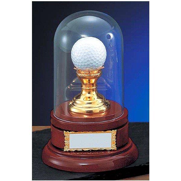 画像1: VT3393:ホールインワンの記念ボールを飾れる お祝い用の記念品 ホールインワントロフィー