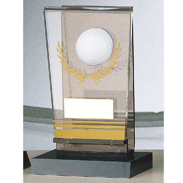 画像1: B-2064:ホールインワンの記念ボールを飾れる お祝い用の記念品 ホールインワントロフィー