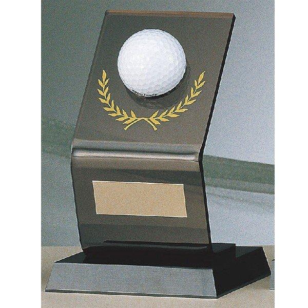 画像1: B-2063:ホールインワンの記念ボールを飾れる お祝い用の記念品 ホールインワントロフィー