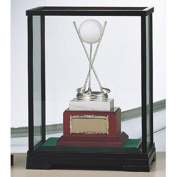 画像2: B-9101:ホールインワンの記念ボールを飾れる お祝い用の記念品 ホールインワントロフィー