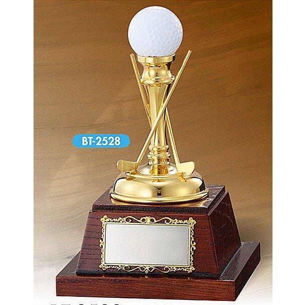 画像1: BT2528:ホールインワンの記念ボールを飾れる お祝い用の記念品 ホールインワントロフィー