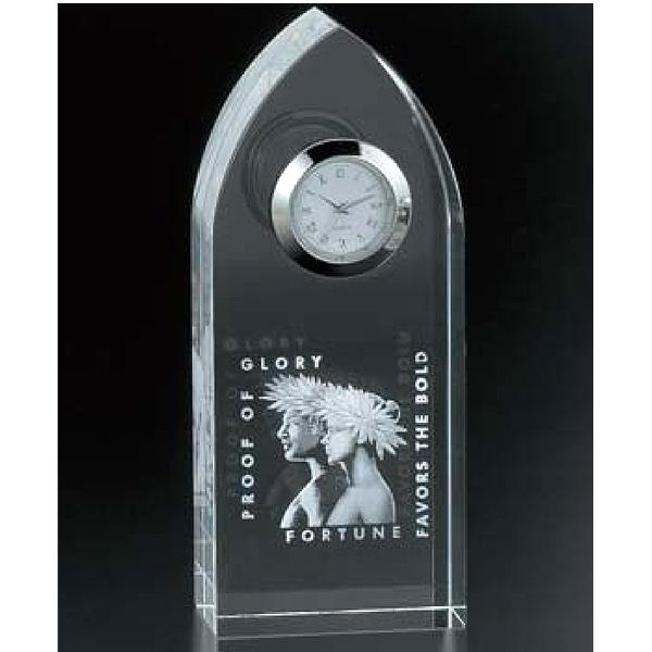画像1: CV56:オリジナル2Dレーザー加工周年記念や企業表彰の記念品にオススメのガラスの記念品