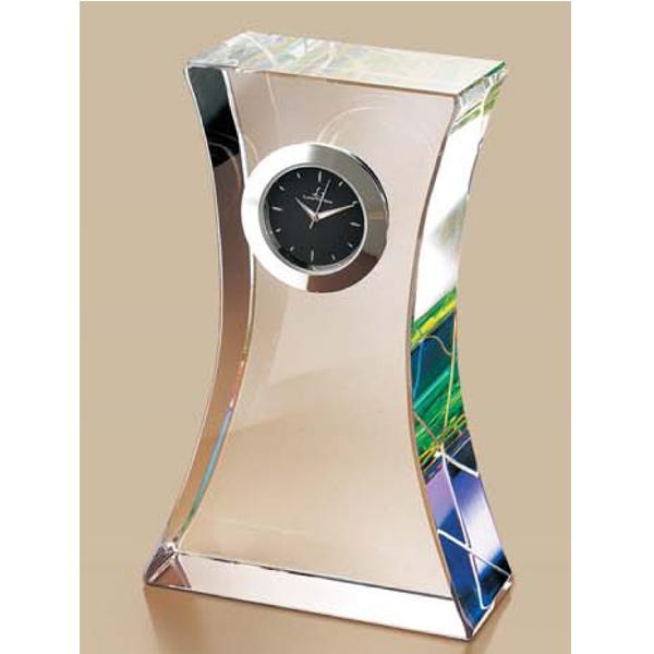 画像1: オリジナル2Dレーザー加工 LS62:周年記念や企業表彰の記念品にオススメのガラスの記念品