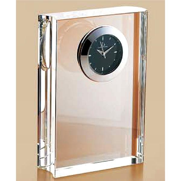 画像1: オリジナル2Dレーザー加工 LS31 :周年記念や企業表彰の記念品にオススメのガラスの記念品