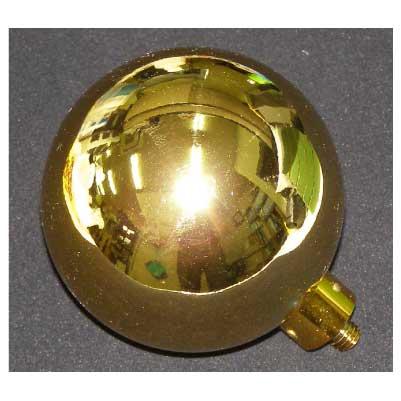 画像1: 金球(ネジ式)日章旗・日の丸・クラブ旗に使用する金球